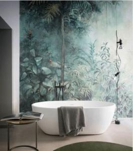 Panneau revêtement mural de salle de bain sur mesure - Nantes 44