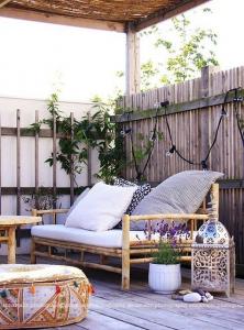 transformation balcon en jardin, espace détente - Nantes 44