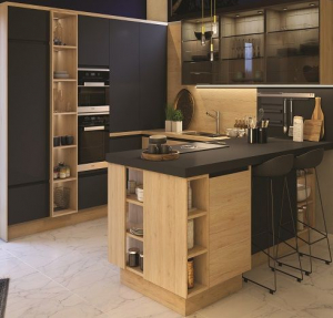 Choisir son style de cuisine, bois et métal - Nantes 44