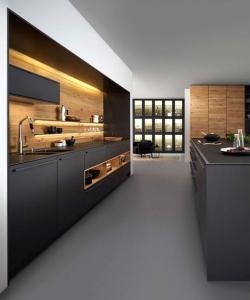 Idées aménagement cuisine, cuisine couloir - Nantes 44