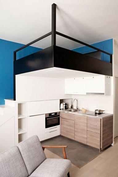 Optimisation de studio, création d'une mezzanine - Nantes 44