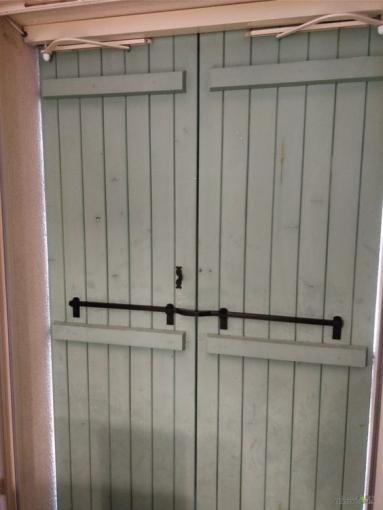Conseils sécurité pour résidence secondaire, barre de sécurité volets battants - Nantes 44