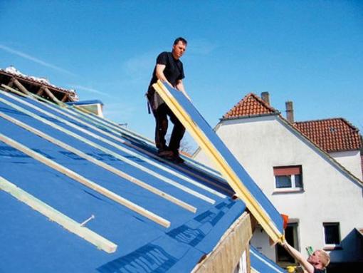 Isolation du toit avec panneau isolant - Nantes 66