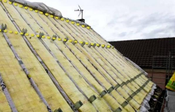 Isolation exterieur de la toiture par sarking - Nantes 44