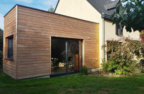 Extension sur pignon - Nantes 44