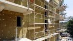 Isolation extérieure des murs avec des panneaux de laine de verre - Nantes 44