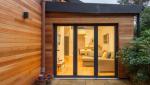 Extension de maison en bois, salon - Nantes 44