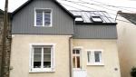 Surélévation en parpaings avec fenêtres de toit - Nantes 44