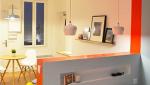 Optimisation de studio, cloison séparative à mi hauteur - Nantes 44