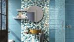 Revêtement mural de salle de bain en mosaïque - Nantes 44