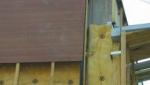 Isolation extérieure des murs avec des panneaux avec de laine de roche en rouleaux - Nantes 44