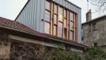 Surélévation de maison bois et métal - Nantes 44