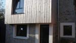 Surélévation de maison bois et pierre - Nantes 44