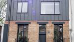 Surélévation de maison métal et briques - Nantes 44