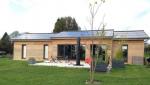 Maison ossature bois avec panneaux solaires - Nantes 44